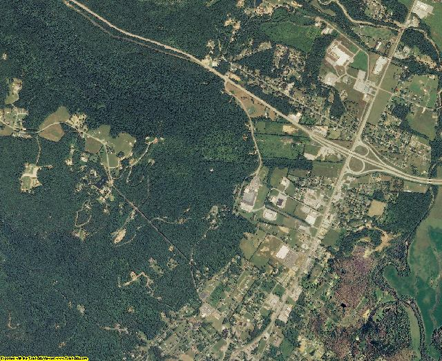 Sequatchie County, Tennessee aerial photography