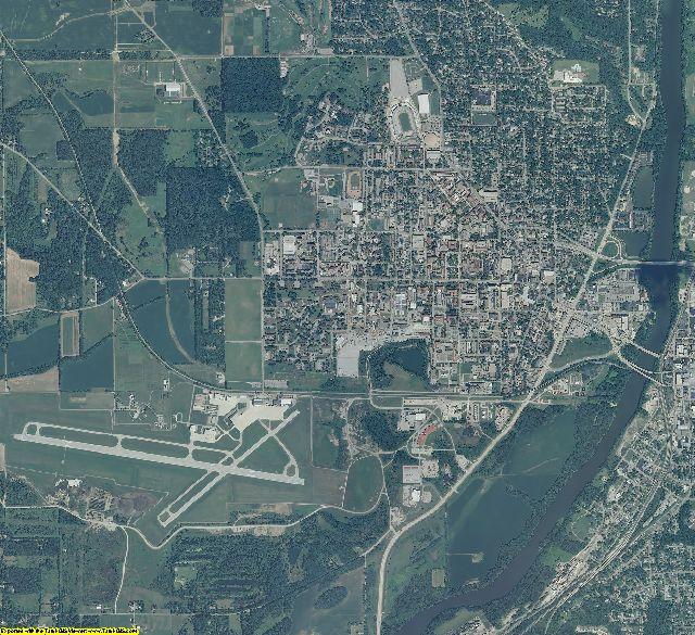 Tippecanoe County, Indiana aerial photography