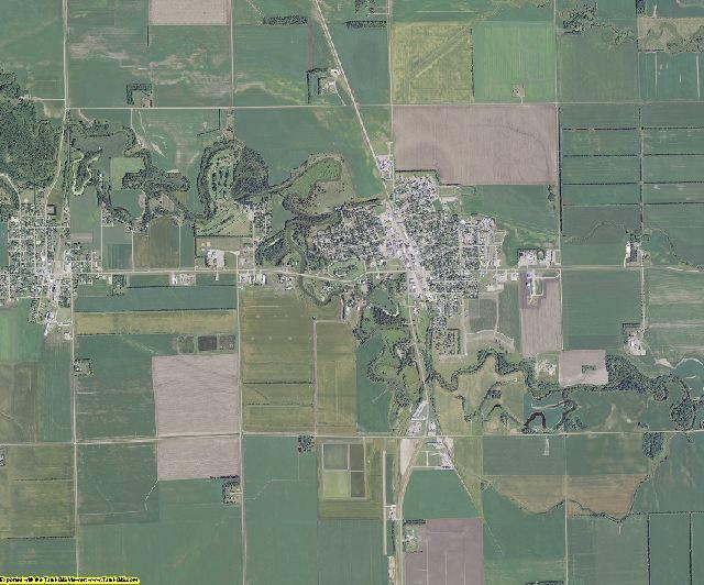 Traill County, North Dakota aerial photography