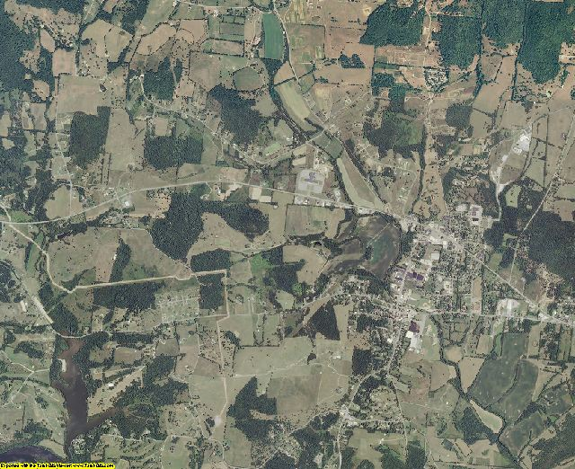 Trousdale County, Tennessee aerial photography