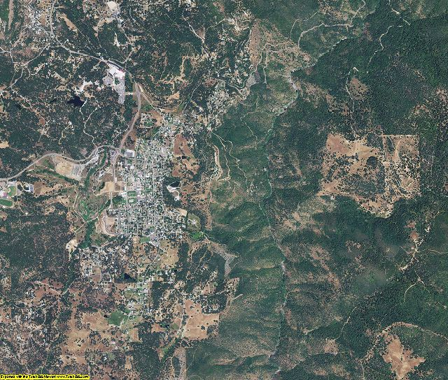 Tuolumne County, California aerial photography