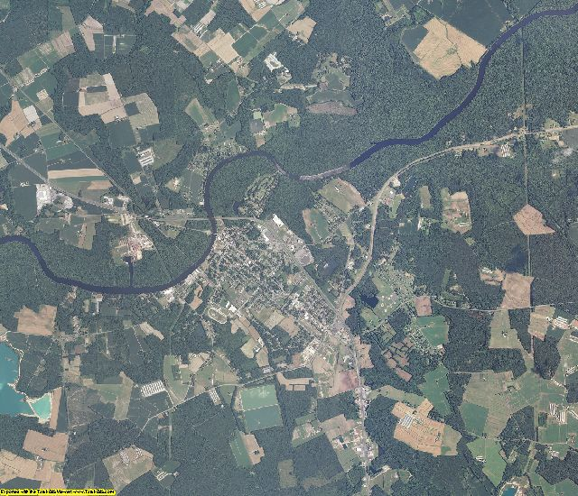 Worcester County, Maryland aerial photography