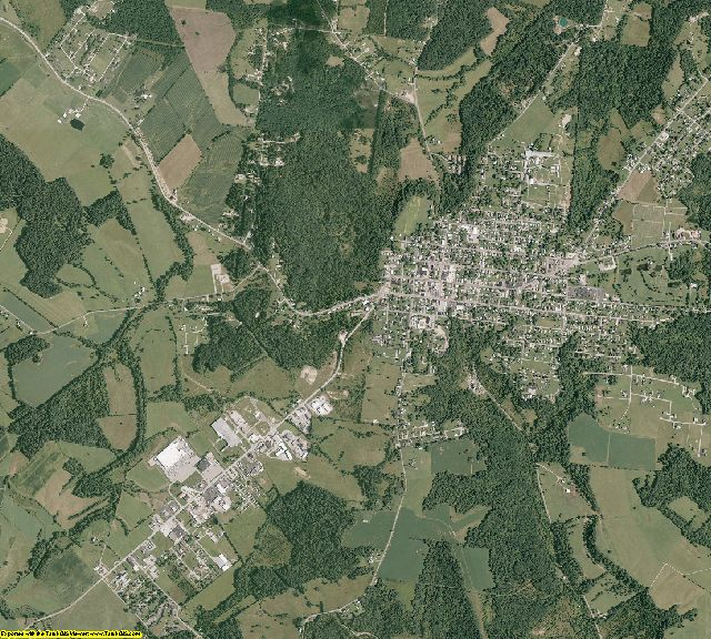 Adams County, Ohio aerial photography