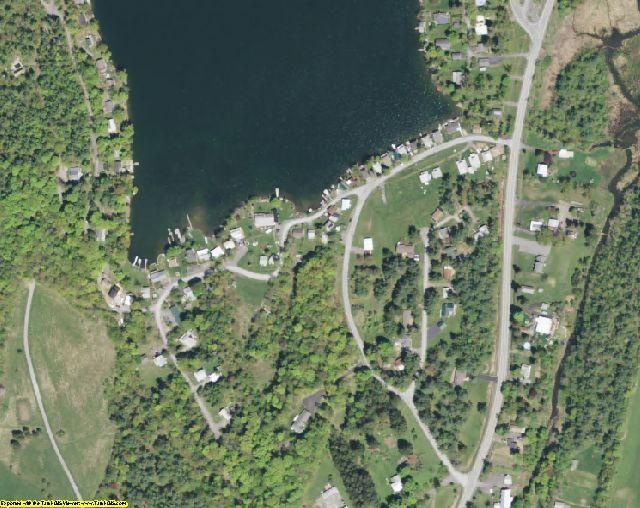 Albany County, NY aerial photography detail