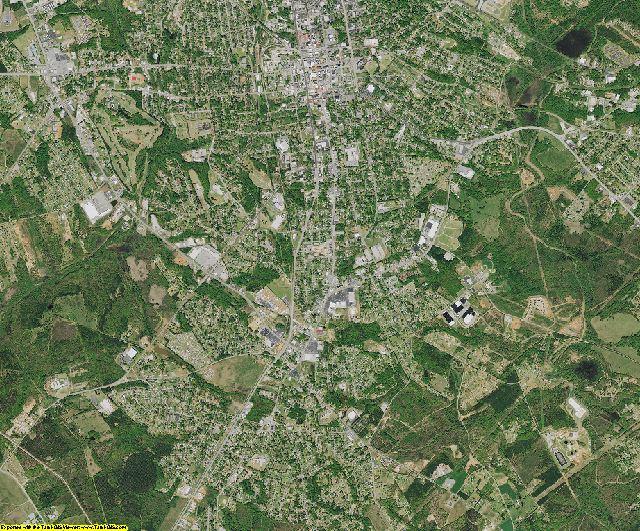 Anderson County, South Carolina aerial photography