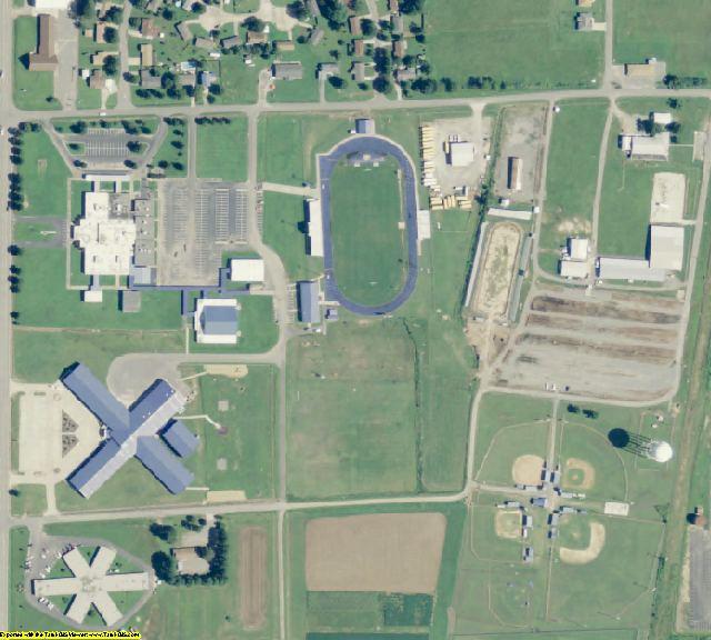Arkansas County, AR aerial photography detail