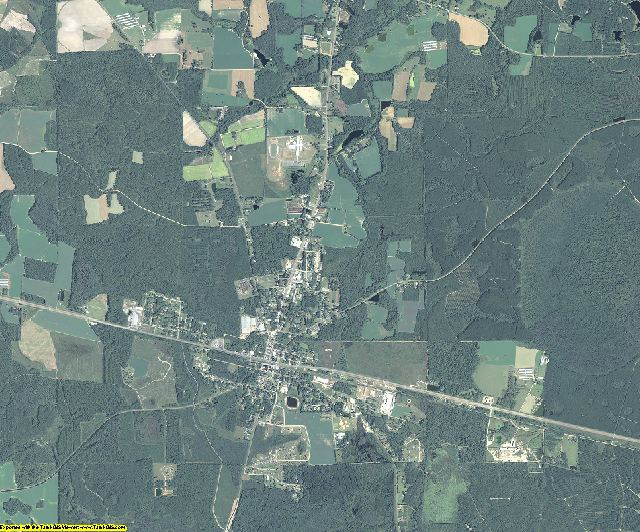 Atkinson County, Georgia aerial photography