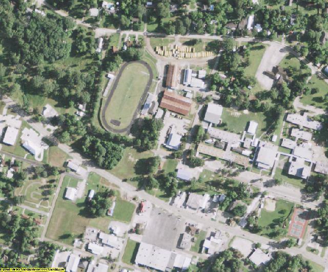 Avoyelles County, LA aerial photography detail
