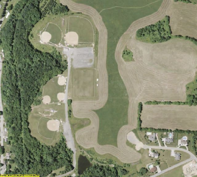 Belmont County, OH aerial photography detail