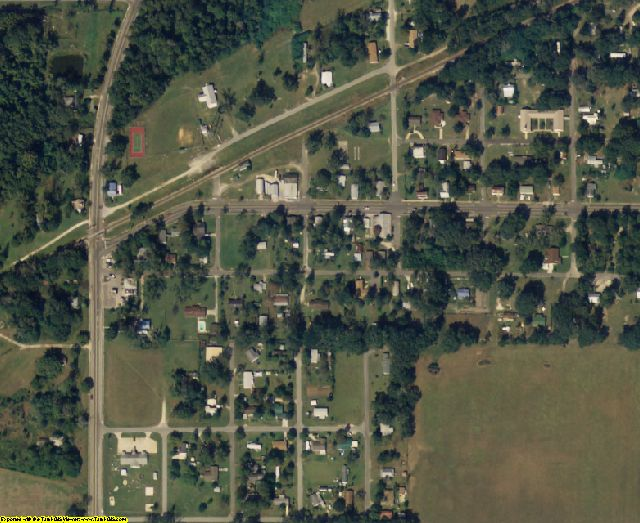 Bradford County, FL aerial photography detail