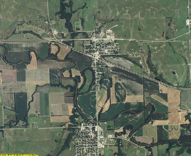 Chase County, Kansas aerial photography