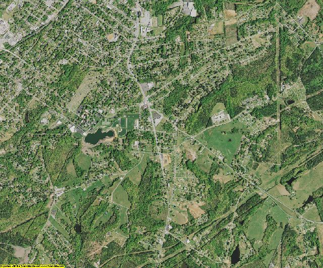 Cherokee County, South Carolina aerial photography