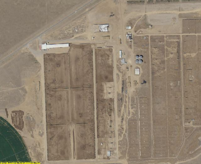 Cimarron County, OK aerial photography detail