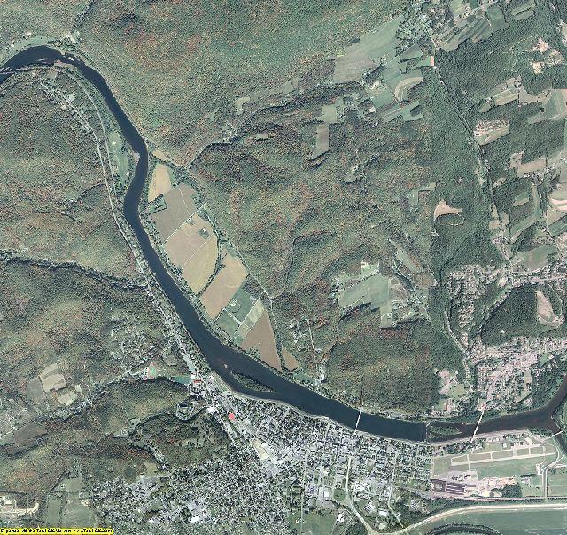 Clinton County, Pennsylvania aerial photography