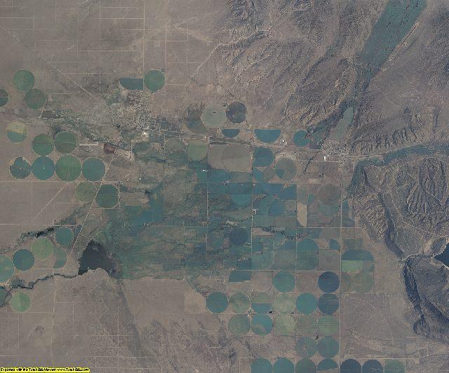 Costilla County, Colorado aerial photography