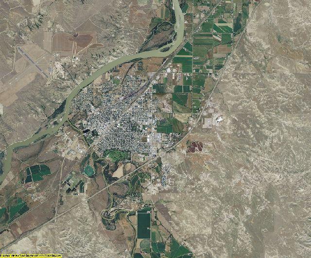 Custer County, Montana aerial photography