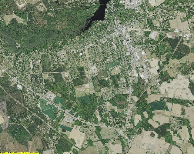 Darlington County, South Carolina aerial photography