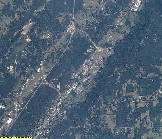 DeKalb County, Alabama aerial photography