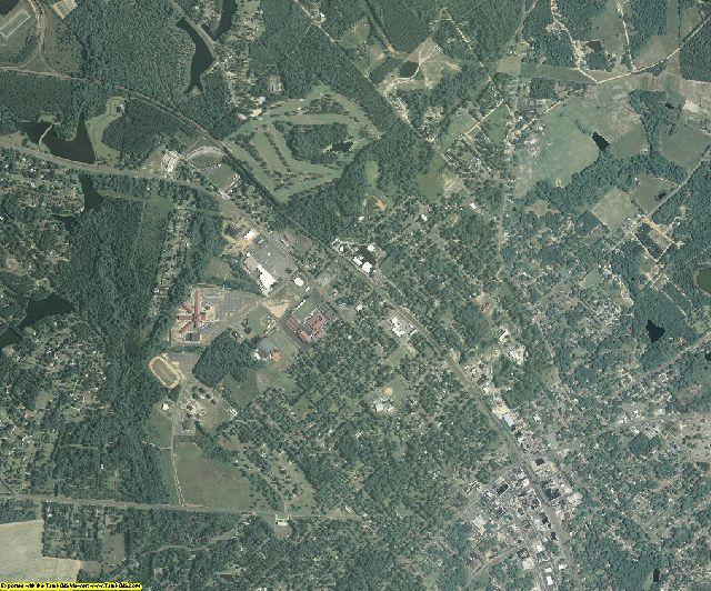 Dodge County, Georgia aerial photography