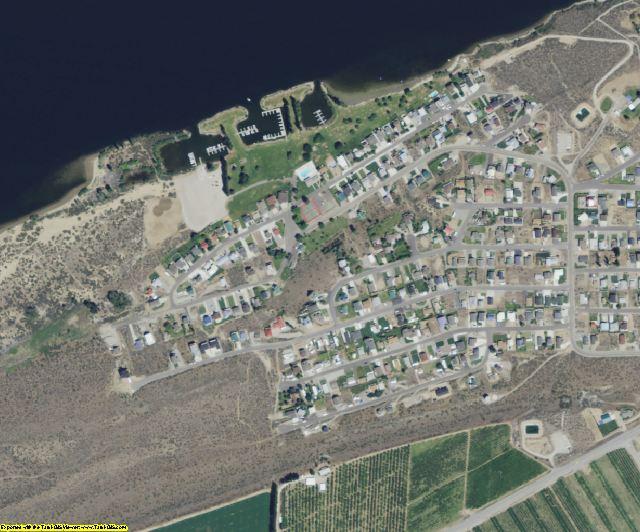 Douglas County, WA aerial photography detail