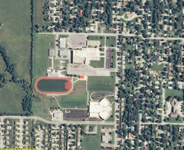KS aerial photography detail