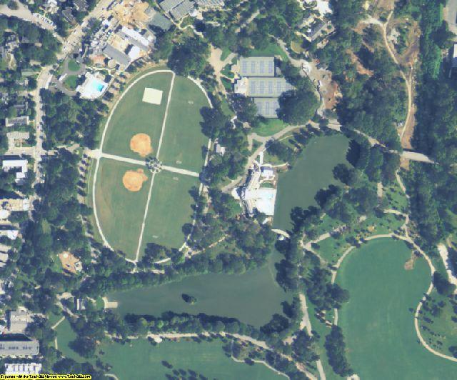Fulton County, GA aerial photography detail