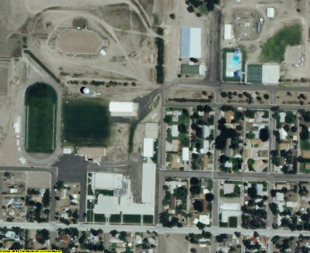 Greeley County, KS aerial photography detail