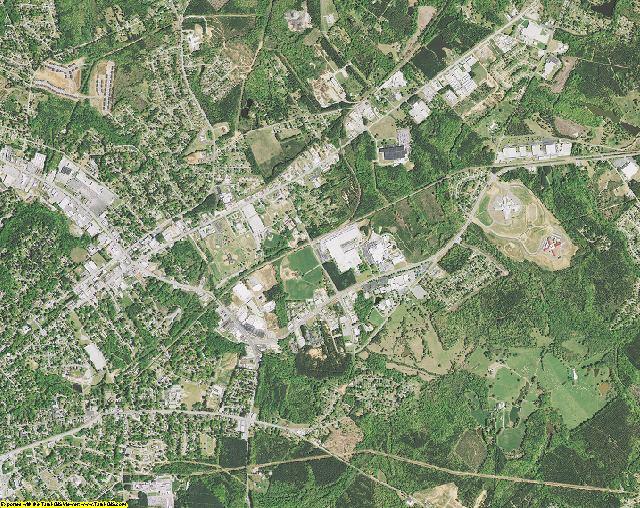 Greenwood County, South Carolina aerial photography