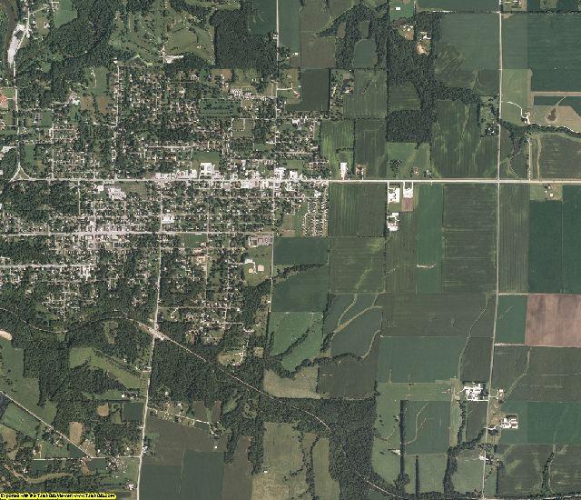 Hancock County, Illinois aerial photography