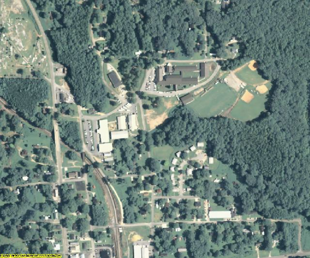 Haralson County, GA aerial photography detail
