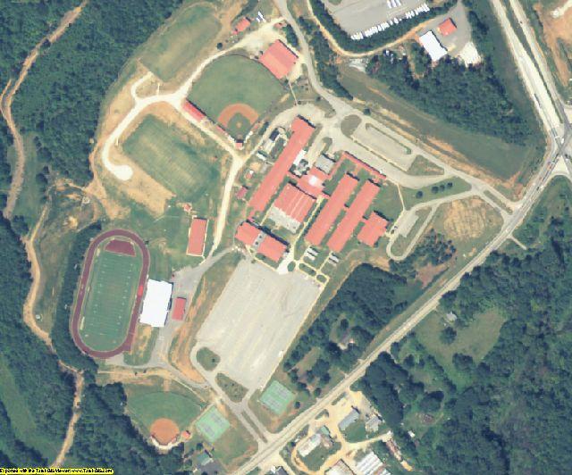 Jackson County, GA aerial photography detail