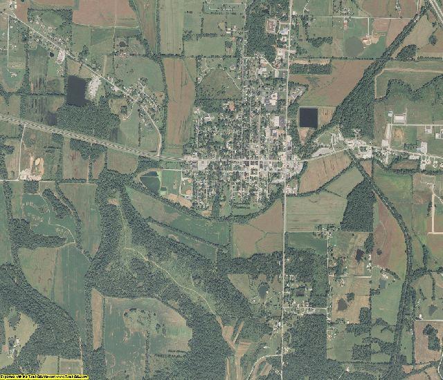 Johnson County, Illinois aerial photography