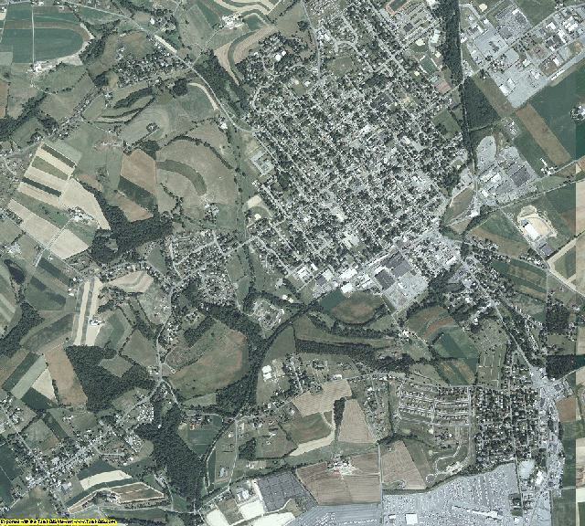 Lancaster County, Pennsylvania aerial photography