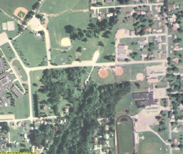 Lawrence County, PA aerial photography detail