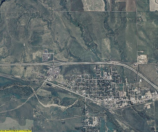 Lincoln County, Colorado aerial photography