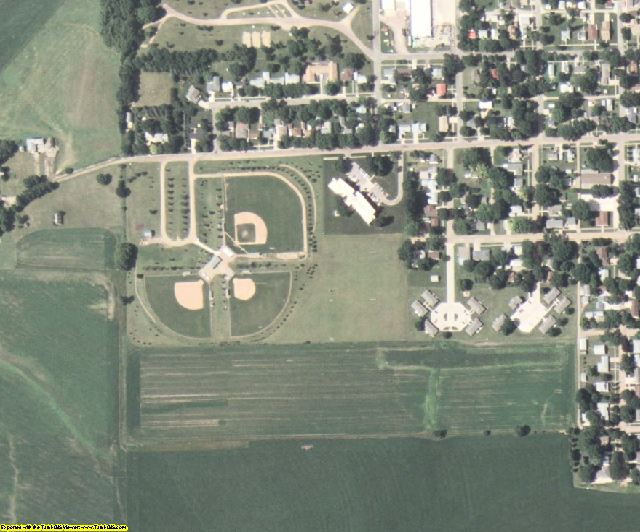 Lyon County, IA aerial photography detail