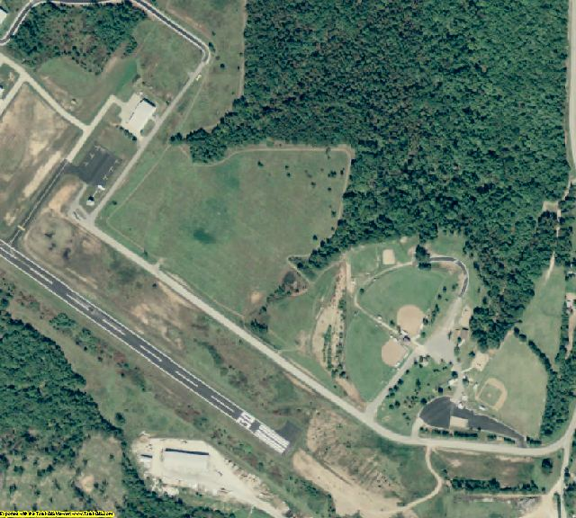 Madison County, AR aerial photography detail