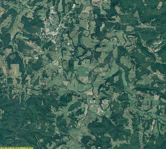 Madison County, Arkansas aerial photography