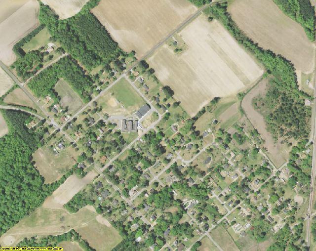 Marlboro County, SC aerial photography detail
