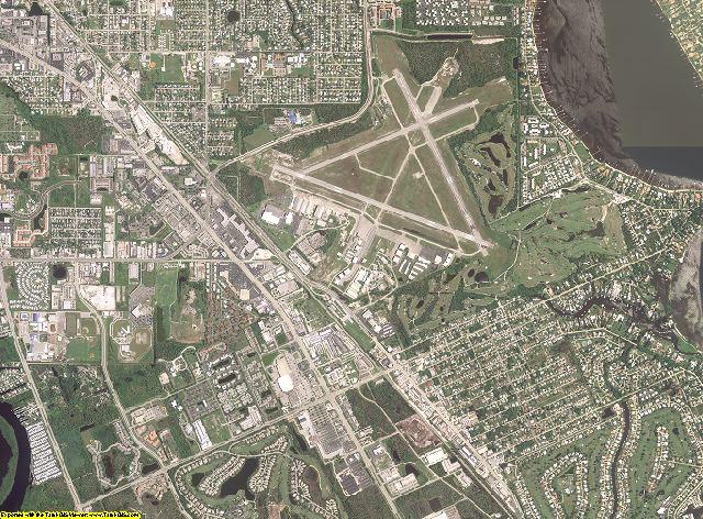 Martin County, Florida aerial photography