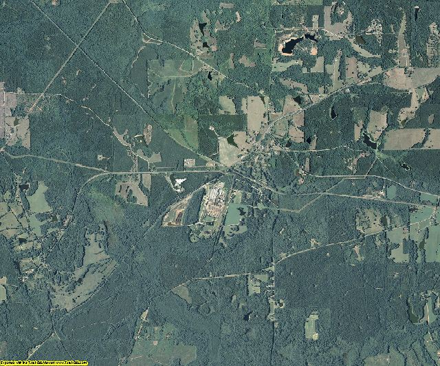 Meriwether County, Georgia aerial photography
