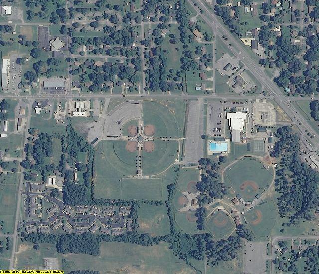 Morgan County, AL aerial photography detail