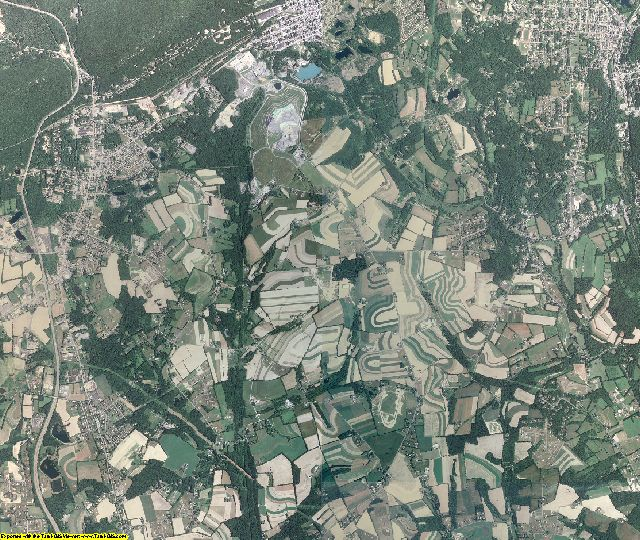 Northampton County, Pennsylvania aerial photography