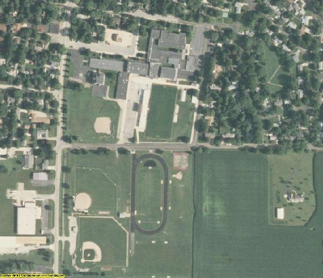 Piatt County, IL aerial photography detail