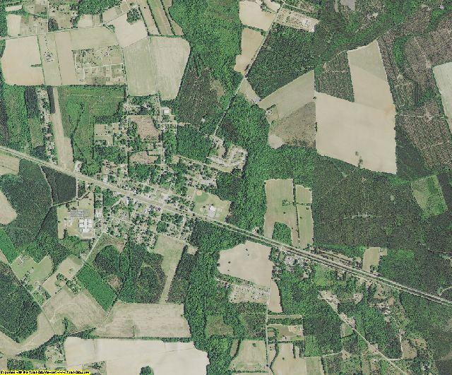 Richland County, South Carolina aerial photography