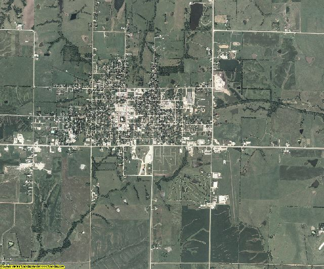 Ringgold County, Iowa aerial photography