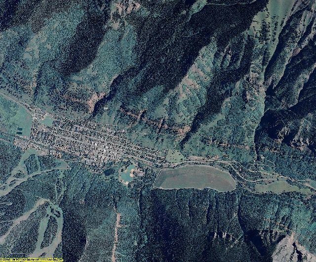 San Miguel County, Colorado aerial photography
