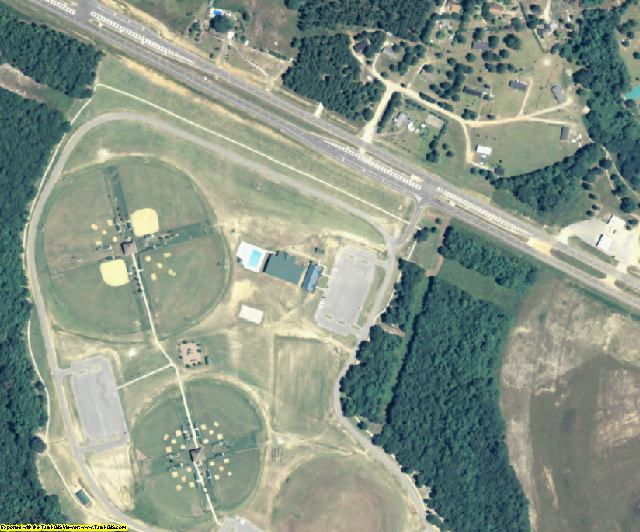 Screven County, GA aerial photography detail