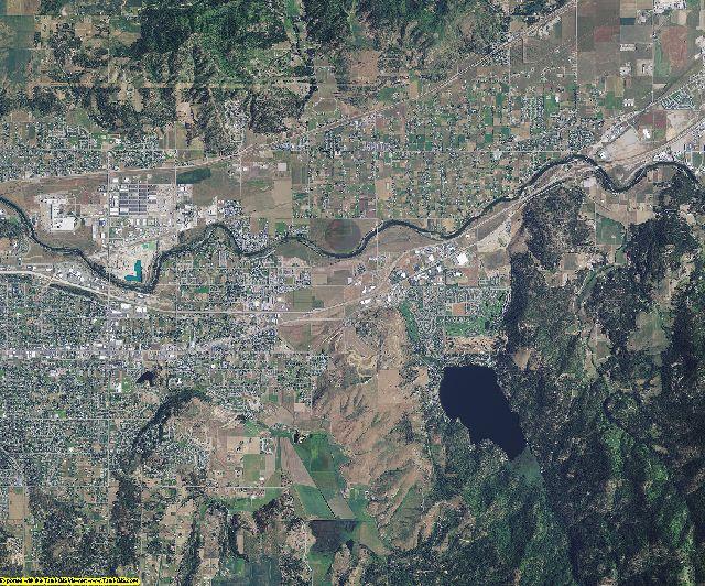 Spokane County, Washington aerial photography