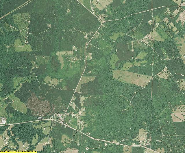 St. Helena County, Louisiana aerial photography